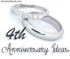 4th anniversary gift ideas 2nd anniversary ideas romancefromtheheart