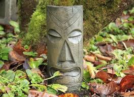 130 best unique garden faces images on garden statues