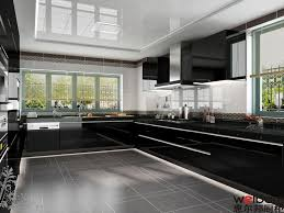 High Gloss Lacquer Kitchen Cabinets China Black High Gloss Bakery Lacquer Mdf Kitchen Cabinet Photos