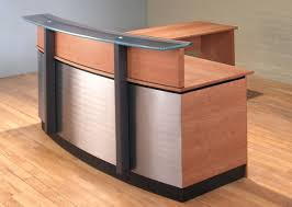 Small Reception Desk Small L Shaped Reception Desk Home Design Ideas Small Reception