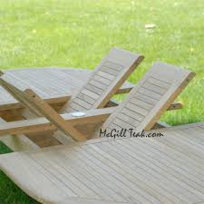 Outdoor Teak Patio Furniture by Agean