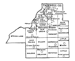 Illinois Map With Counties by Tazewell County Illinois Maps And Gazetteers