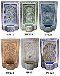 morroco style mosaic fountain moroccan tiles los angeles along with moroccan