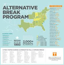 Utk Map Utk Alternative Break Program