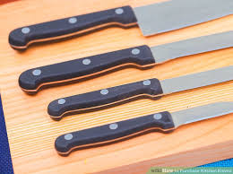 knives kitchen how to purchase kitchen knives 12 steps with pictures wikihow
