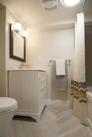 bathroom cool white basement bathroom decoration using light