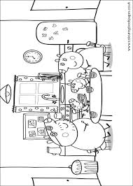 peppa pig colouring pages 13 kids character colour games