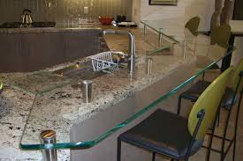 Glass Kitchen Countertops Glass Kitchen Counter Bar Top Floating Glass Bar Top Sans Soucie