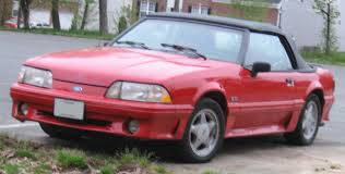 1993 ford mustang 5 0 file ford mustang 5 0 convertible jpg wikimedia commons