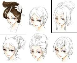 hhort haircut sketches for man which chinese ancient hair style is your favorite