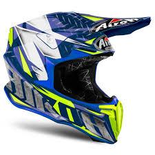 motocross helmet airoh twist iron blue motocross mx helmet matt gardiner motocross