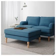 Ikea Ottoman Bed Stocksund Ottoman Ljungen Blue Black Ikea Idolza