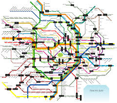 Sydney Subway Map Tokyo Subway Map Tokyo Mappery Maps Pinterest Subway Map Japan