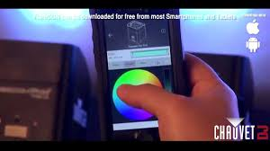 dmx light control software for ipad chauvet dj flarecon wireless dmx lighting control from smartphones