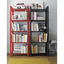 painted bookcases home interior wall decoration