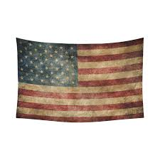 interestprint stars and stripes usa flag wall art home decor