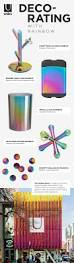 exploring rainbow and iridescent finishes in home decor