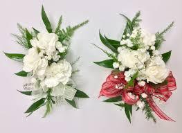 wrist corsages children s size wrist corsages with mini carns centerville florists