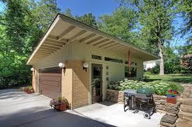 building a workshop garage small detached garage workshop garage midcentury with exposed