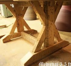 oakville reclaimed wood kitchen table