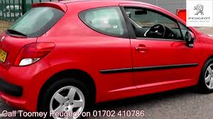 used peugeot 108 for sale 2010 peugeot 207 verve 1 4l flamenco red ea10hse for sale at
