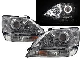 lexus rx300 headlight rx300 ux10 mk1 1999 2003 suv 5d ccfl projector headlight chrome