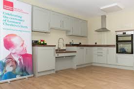 howdens joinery u0027s 100th donated kitchen leonard cheshire disability