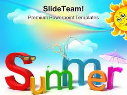 summer holidays powerpoint templates and powerpoint backgrounds pp