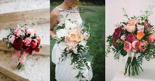 the 6 most popular types of wedding bouquets