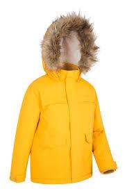 samuel kids parka jacket mountain warehouse gb