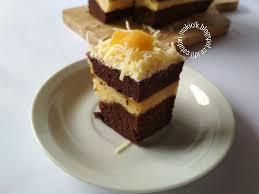 cara membuat brownies kukus buah naga resep brownies kukus nangka catatan mak icik