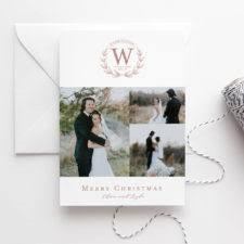 Newly Wed Christmas Card Christmas U2013 Fresh Cut Prints