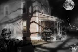 halloween tag wallpapers ghosts attic horror house halloween sky