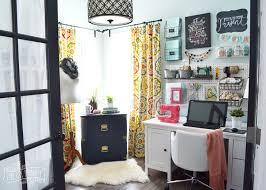 Craft Room Office - my colourful boho craft room office tour video the diy mommy