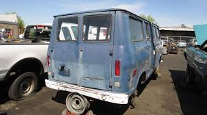 jeep forward control van junkyard find 1969 chevrolet chevyvan 108