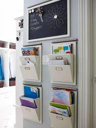 Office Wall Organizer Ideas Utilizing Small Home Office Spaces Using 4 Hanging File Mail Or