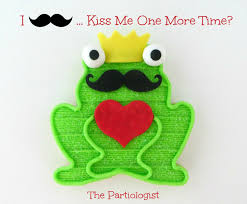the partiologist valentine frog cookies