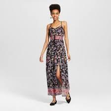 floral print maxi dress target