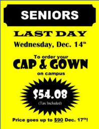 cap and gown price ed w clark high school