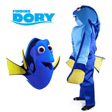 aliexpress com buy finding dory costume animal mascot regal blue