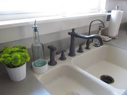 how to clean white porcelain kitchen sink chrison bellina