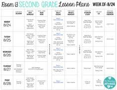 free printable weekly lesson plan template ms greene my own