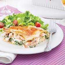 cuisiner epinards lasagne au saumon et épinards pour recevoir recettes 5 15