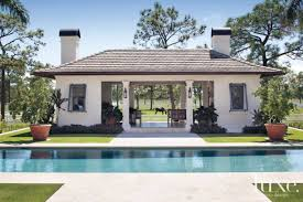Plantation Style Pool Pavilion Luxe Interiors Design - Plantation style interior design