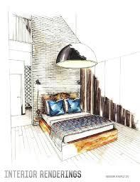 Interior Design Sketch | interior design portfolio interior design portfolios design
