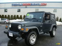 2006 deep beryl green pearl jeep wrangler x 4x4 90298039