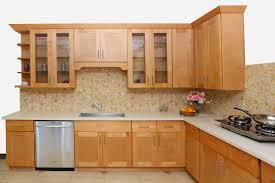 glamorous natural maple shaker kitchen cabinets interesting maple
