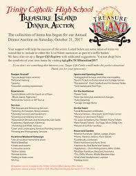 trinity catholic high dinner auction