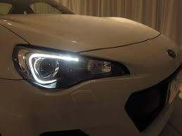 led strip lights headlights brz u0027s u201cboomerang u201d led strip mystery scion fr s forum subaru