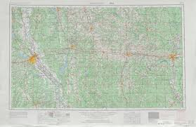 United States Topographical Map by Shreveport Topographic Map Sheet United States 1966 Full Size